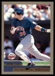 2000 Topps #118  Terry Steinbach  Front Thumbnail