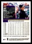 2000 Topps #185  Jay Bell  Back Thumbnail