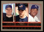 2000 Topps #202   -  Jack Cust / Mike Colangelo / Dee Brown Prospects Front Thumbnail