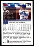 2000 Topps #317  Joe Randa  Back Thumbnail