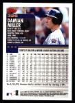 2000 Topps #326  Damian Miller  Back Thumbnail