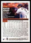 2000 Topps #174  Marvin Benard  Back Thumbnail