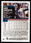 2000 Topps #311  Chris Carpenter  Back Thumbnail