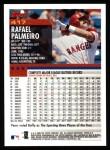 2000 Topps #417  Rafael Palmeiro  Back Thumbnail