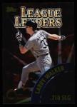 2000 Topps #467   -  Manny Ramirez / Larry Walker League Slugging Percent Leaders Front Thumbnail