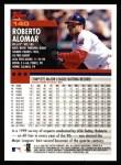2000 Topps #140  Roberto Alomar  Back Thumbnail