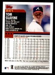 2000 Topps #241  Tom Glavine  Back Thumbnail