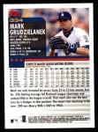 2000 Topps #334  Mark Grudzielanek  Back Thumbnail