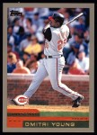 2000 Topps #423  Dmitri Young  Front Thumbnail
