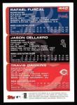 2000 Topps #442   -  Rafael Furcal / Jason Dellaero / Gookie Dawkins Prospects Back Thumbnail