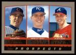 2000 Topps #447   -  Scott Downs / Chris George / Matt Belisle Prospects Front Thumbnail