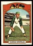 1972 Topps #583  Darold Knowles  Front Thumbnail