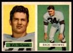 1957 Topps #102  Walt Michaels  Front Thumbnail