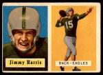 1957 Topps #135  Jimmy Harris  Front Thumbnail