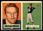 1957 Topps #115  George Shaw  Front Thumbnail