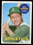 1969 Topps #655  Mike Hershberger  Front Thumbnail