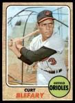 1968 Topps #312  Curt Blefary  Front Thumbnail