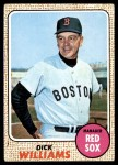 1968 Topps #87  Dick Williams  Front Thumbnail