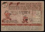1958 Topps #409  Frank Thomas  Back Thumbnail