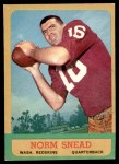 1963 Topps #158  Norm Snead  Front Thumbnail
