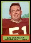 1963 Topps #115  Jim Schrader  Front Thumbnail