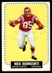 1964 Topps #3  Nick Buoniconti  Front Thumbnail