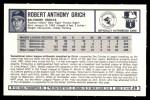 1973 Kellogg's #39  Bobby Grich  Back Thumbnail