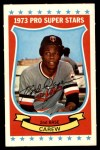 1973 Kellogg's #51  Rod Carew  Front Thumbnail