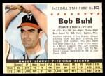 1961 Post #103 COM Bob Buhl  Front Thumbnail