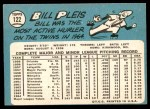 1965 Topps #122  Bill Pleis  Back Thumbnail