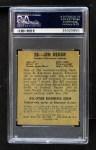 1948 Leaf #28  Jim Hegan  Back Thumbnail