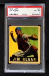 1948 Leaf #28  Jim Hegan  Front Thumbnail