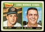 1965 Topps #181   -  Don Loun / Joe McCabe Senators Rookies Front Thumbnail