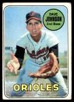 1969 Topps #203  Davey Johnson  Front Thumbnail