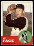 1963 Topps #409 xTCH Roy Face  Front Thumbnail