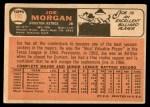 1966 Topps #195  Joe Morgan  Back Thumbnail