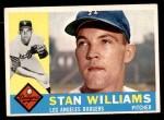 1960 Topps #278  Stan Williams  Front Thumbnail
