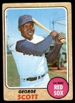 1968 Topps #233  George Scott  Front Thumbnail