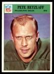 1966 Philadelphia #140  Pete Retzlaff  Front Thumbnail
