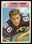 1966 Philadelphia #54  George Andrie  Front Thumbnail