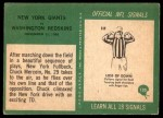 1966 Philadelphia #130  Chuck Mercein New York Giants Back Thumbnail