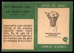 1966 Philadelphia #182   -  Tommy Davis San Francisco 49ers Back Thumbnail