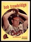 1959 Topps #239  Bob Trowbridge  Front Thumbnail