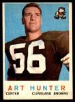 1959 Topps #92  Art Hunter  Front Thumbnail