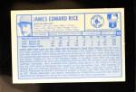 1976 Kellogg's #10  Jim Rice  Back Thumbnail