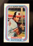 1976 Kellogg's #12  Ken Singleton  Front Thumbnail
