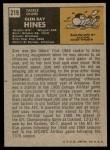 1971 Topps #219  Glen Ray Hines  Back Thumbnail