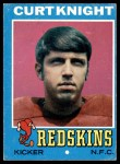 1971 Topps #237  Curt Knight  Front Thumbnail