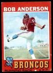 1971 Topps #212  Bob Anderson  Front Thumbnail