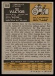 1971 Topps #159  Ted Vactor  Back Thumbnail